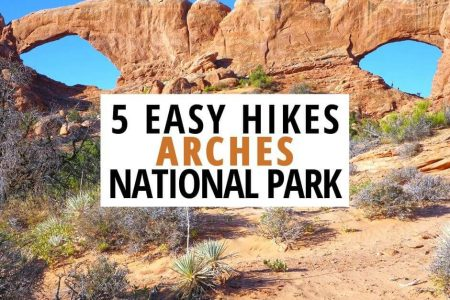 5 Easy Hikes in Arches National Park Utah