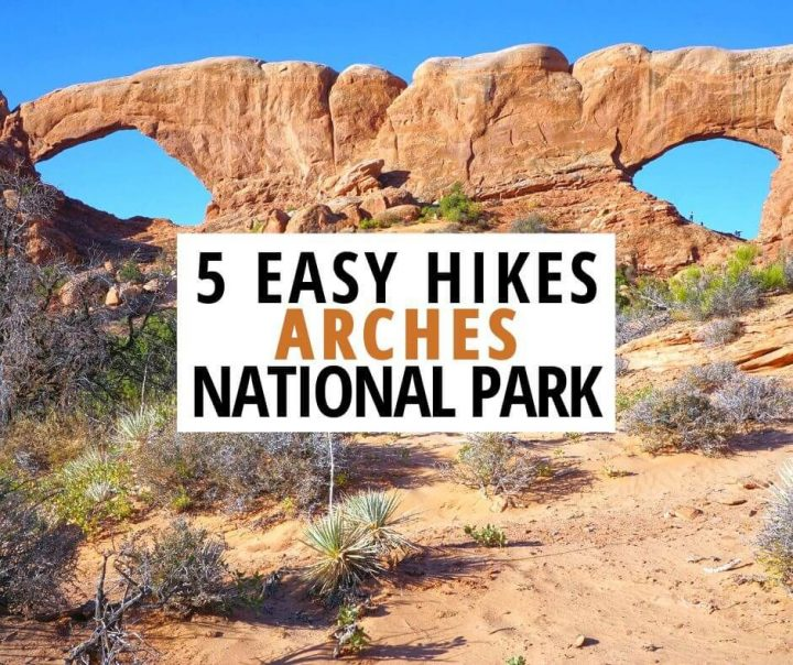 5 Easy Hikes Arches National Park