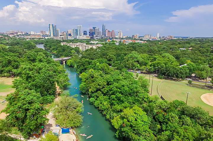 Austin TX Barton Creek Zilker Park
