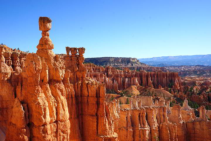 Bryce National Park Thor's hammer hoodoo