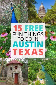 15 Free Fun Things to Do in Austin Texas