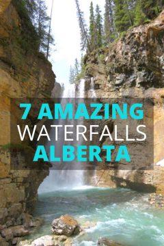 7 Amazing Waterfalls Alberta