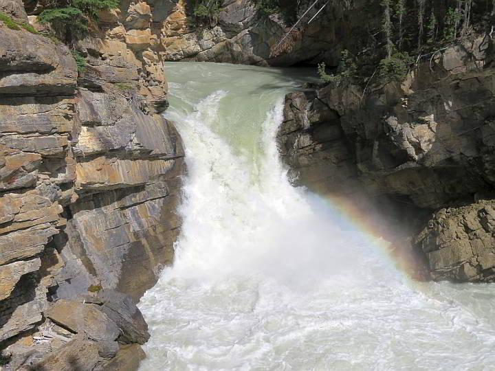 Lower Sunwapta Falls Alberta