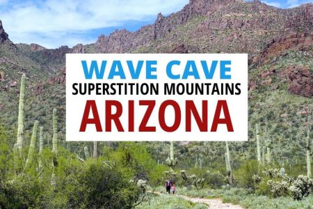 Wave Cave Hike Superstition Mountains Arizona