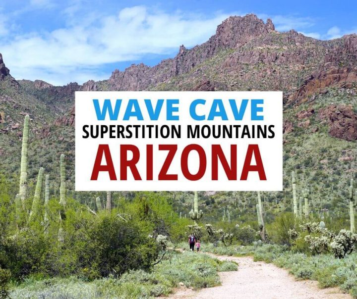 Wave Cave Superstition Mountains Arizona