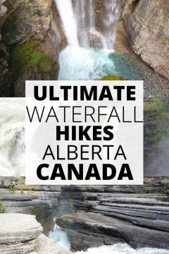 Ultimate Waterfall Hikes Alberta Caanda