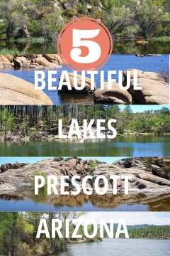 5 Beautiful Lakes Prescott Arizona