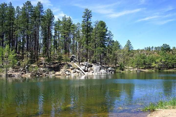 Goldwater Lake Prescott Arizona