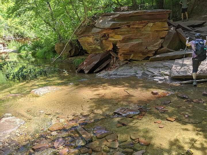 1 of 13 creek crossings Oak Creek West Fork trail