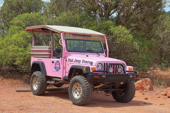 Honanki Pink Jeep Tours