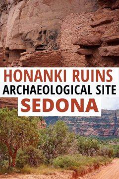 Honanki Ruins Archaeological Site Sedona