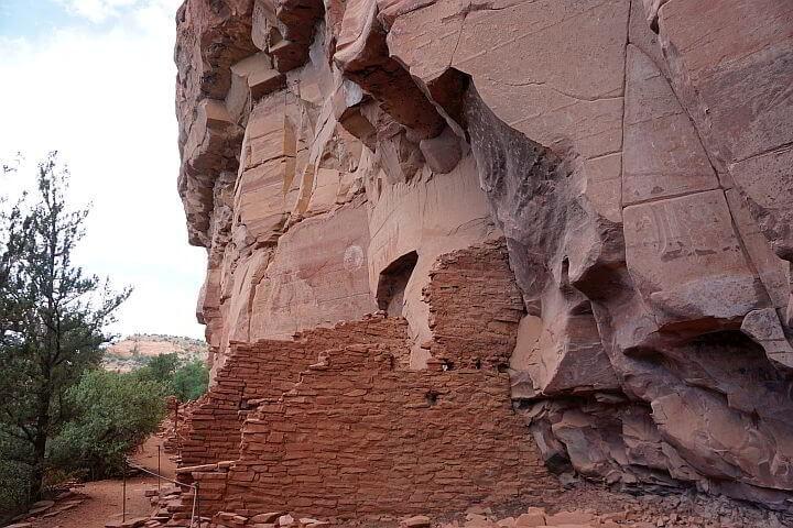 Honanki ruins Sedona Arizona
