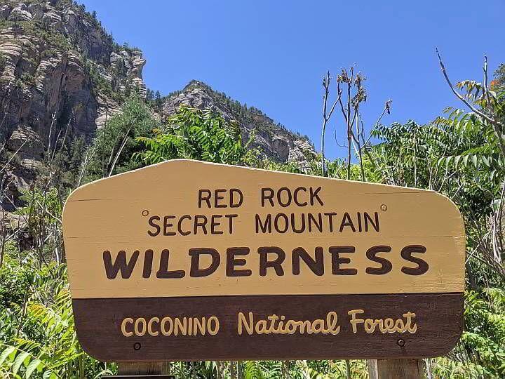 Red Rock Secret Mountain Wilderness Sedona