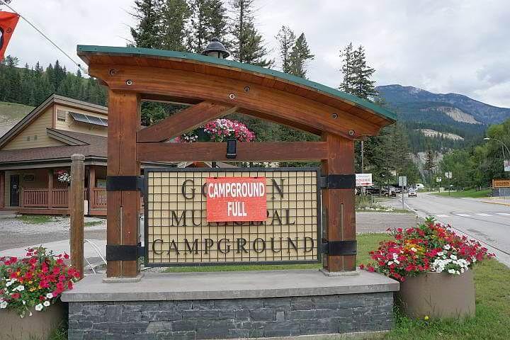 Golden BC Municipal Campground