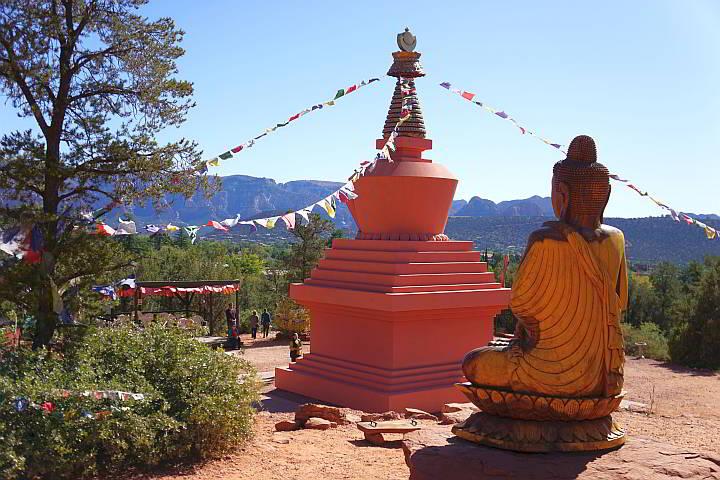 Stupa and Buddha AZ Sedona