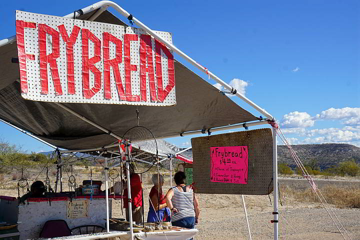 Yavapai Apache Fry Bread and Jewelry